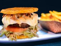 Tostón burger