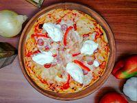 Pizza Mozafiatta 4 Porciones