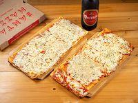 Promo 3 - Metro de muzzarella + Refresco Pepsi 1.5 L o Cerveza Patricia 1 L