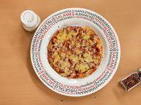 Pizza Pequeña Solo Carne Ranchera