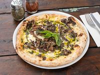 Pizza tartufo e funghi