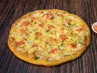 Pizzeta Camarones