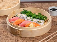 Menú del dia almuerzo-sushi