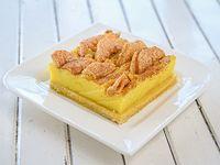 Tarta de manzana y canela con crema pastelera