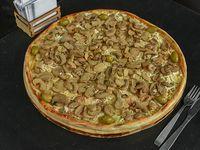 Pizza gigante  champignones