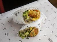 Burrito veggie (falafel)