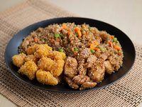Wok Box 5 Pollo Crocante a la Naranja / Pollo Teriyaki Gratis Mr. Tea Botella