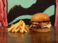 Temple Burger + Papas