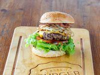 Tasty lassen burger