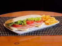 Sándwiche de Jamón y Cordero