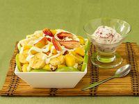 Ensalada de Frutas + Helado