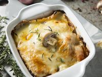 Lasagna de Pollo y Champiñón