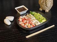 Kani sushi salad