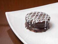 Alfajor de chocolate grande