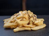 Promo - Papas  fritas con salsa cheddar