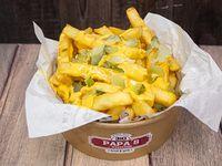 Papas fritas pickle fries