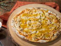 Pizza Mediana Pollo y Miel Mostaza