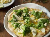 Pizza Mediana Manzana Verde y Queso Azul