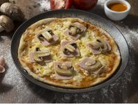 Pizza Mediana Jamón y Champiñón