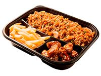 Wok Box 1 Alitas BBQ Gratis Mr. Tea Botella