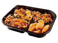 Wok Box 2 Carne Teriyaki Gratis Mr. Tea Botella