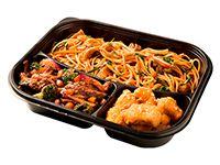 Wok Box 7 Pollo Crocante a la  Naranja / Cerdo Crocante Agridulce Gratis Mr. Tea Botella