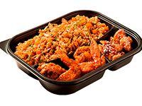 Wok Box 5 Alitas BBQ/ Carne Teriyaki Gratis Mr. Tea Botella