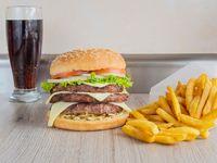 Hamburguesa Triple Carne 100%