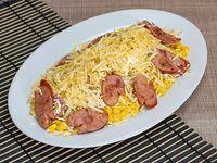 Mazorca Desgranada con Chorizo
