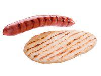 Chorizo con Arepas