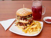 Hamburguesa de Búfalo Premium