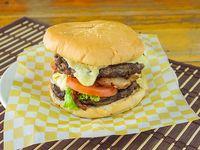 "Hamburguesa Punta de Anca ""Madurada"" Doble Carne"