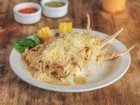 Lasagna de champignon alcachofas