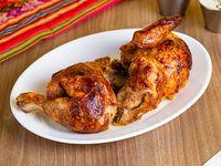Medio pollo a la brasa solo