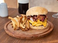 Promo - Double Cheese & Bacon Burger