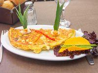 Omelette de palmitos