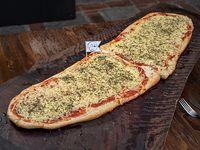 La metro pizza 1metro 100cm de pizza con muzza