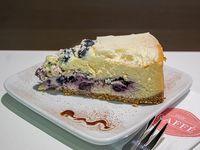 Cheesecake de arándano sin azúcar