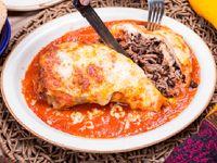 Burrito Gratinado de Tinga de Res