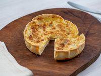 Tarta de cebolla caramelizada con panceta 250 g