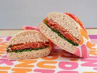 Sándwich gourmet de salmón