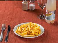 Promo - Papas fritas con queso cheddar + refresco 600 ml