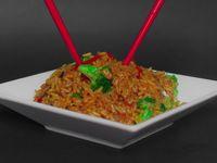 Veggie Rice Yakisoba
