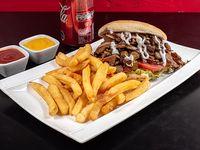 Combo - Don joaquin italiano + papas fritas personales + 1 lata de bebida 350 ml