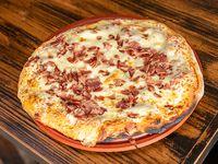Pizzeta con muzzarella + un gusto