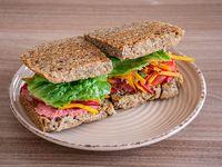 Camote crunch sándwich