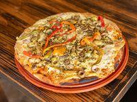 Pizzeta a la salsa + un gusto