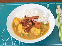 Curry rice con pollo