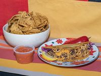Combo - Ttaco + nachos texmex + dip de salsa