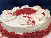 Torta Red Velvet Completa